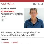 Skandal: Wie die taz einen mutmaßlichen Mossad-Mord kommentiert